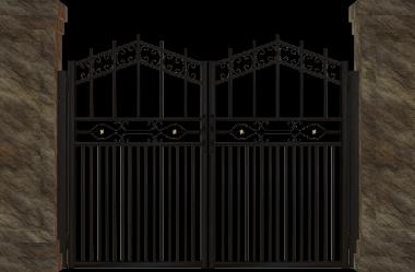 Ονειροκρίτης πόρτα (αυλόπορτα - καγκελόπορτα - είσοδος)