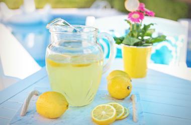 Ονειροκρίτης λεμονάδα - λεμόνι