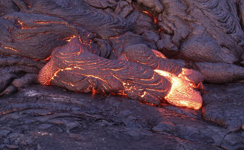 Ονειροκρίτης λάβα - ηφαίστειο