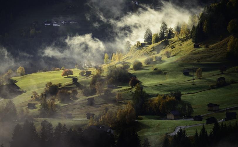 Ονειροκρίτης λόφος - πλαγιά