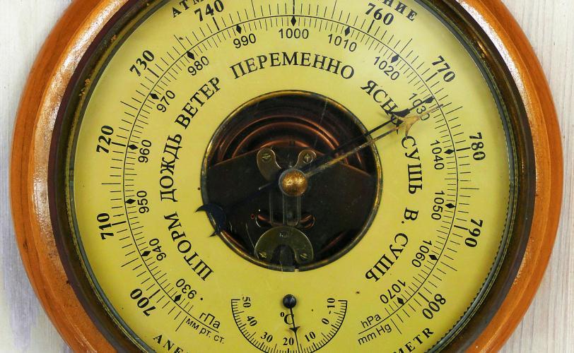 Ονειροκρίτης βαρόμετρο